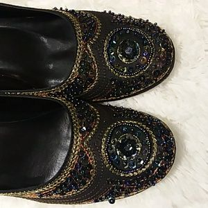 Varsavia Viamara sequin heels